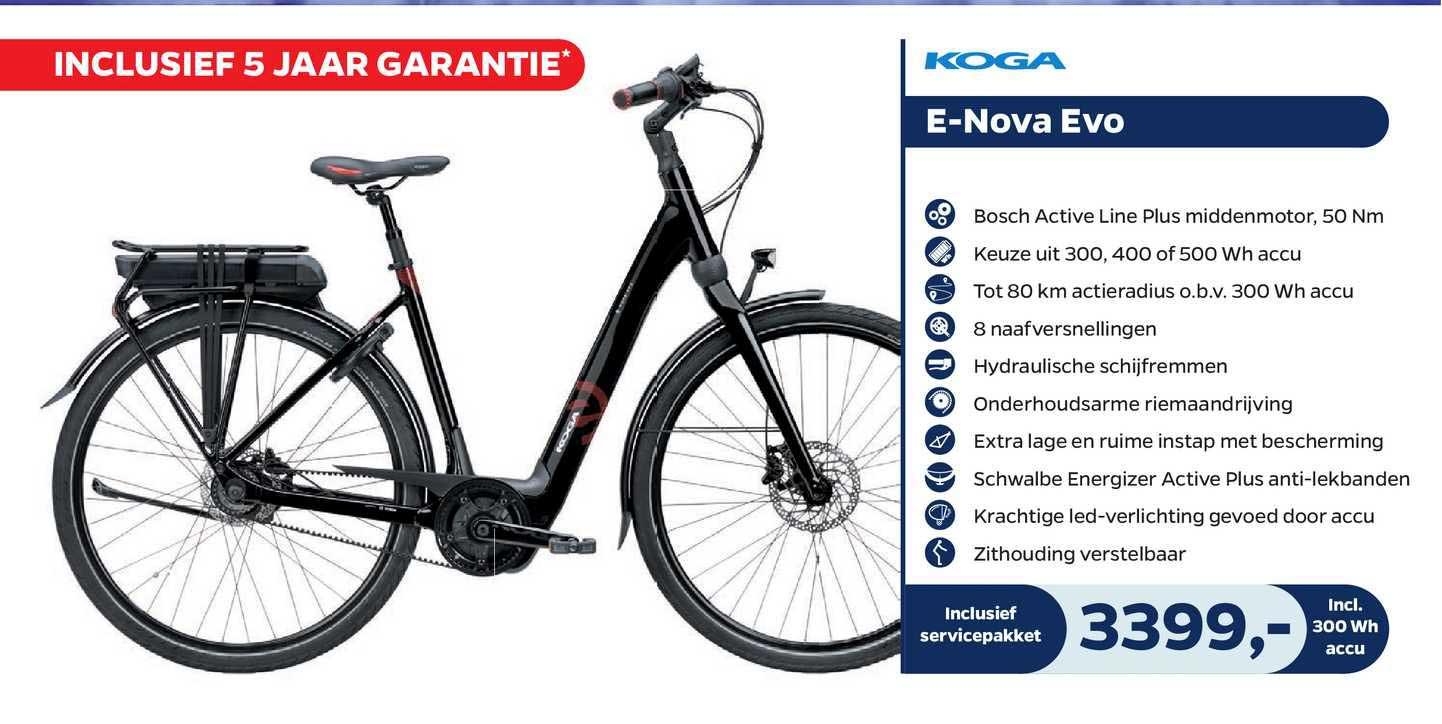 Bike Totaal Koga E-Nova Evo Fiets