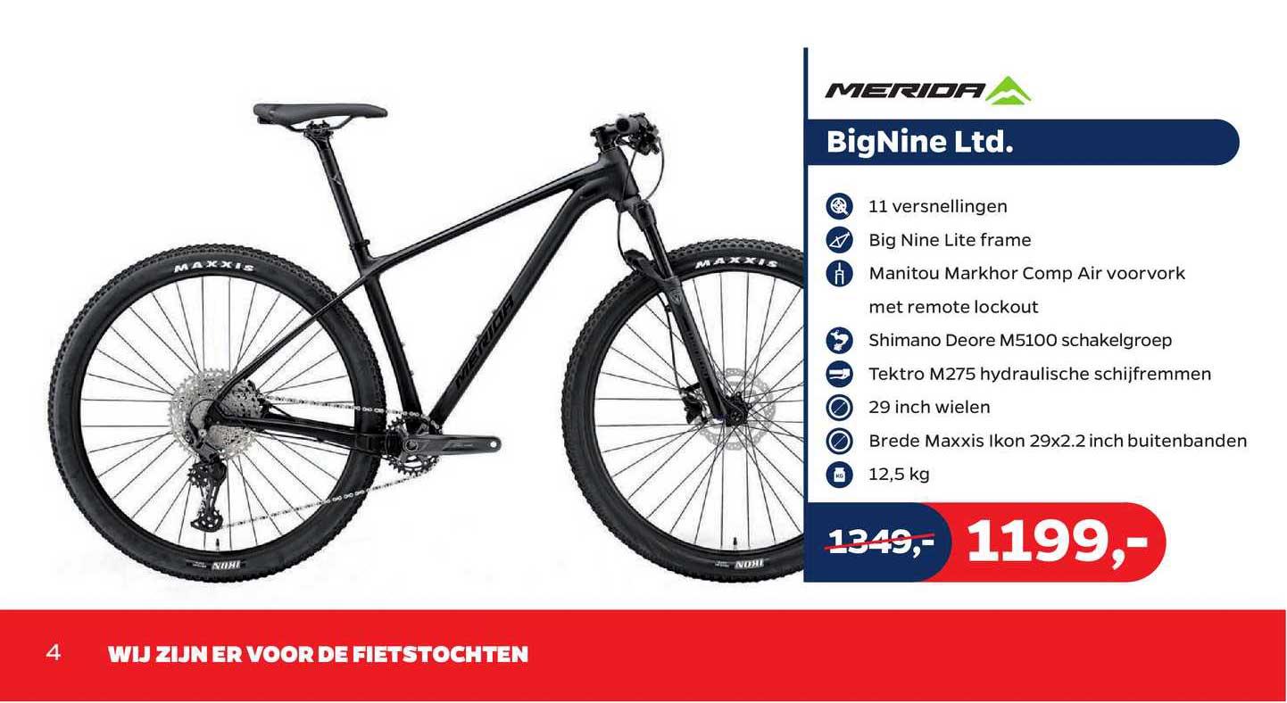 Bike Totaal Merida BigNine Ltd.