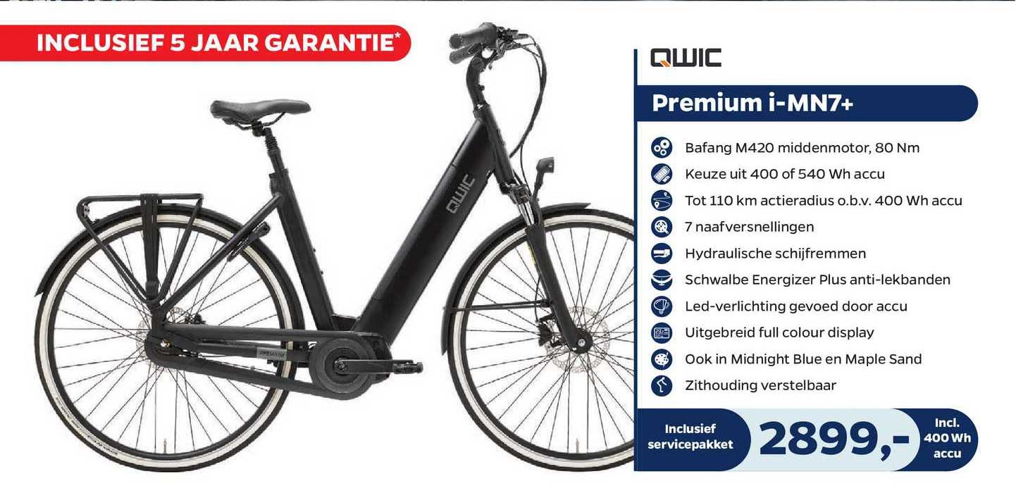 Bike Totaal Qwic Premium I-MN7+ Fiets