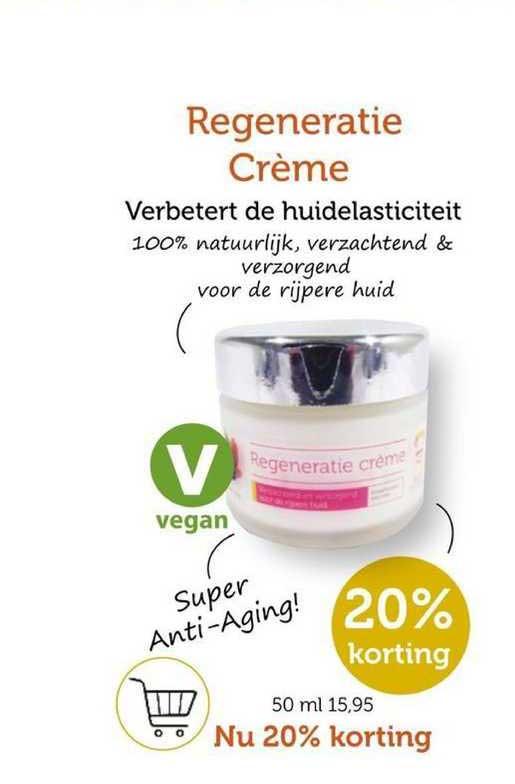 Rode Pilaren Regeneratie Crème Verbetert De Huidelasticiteit 20% Korting