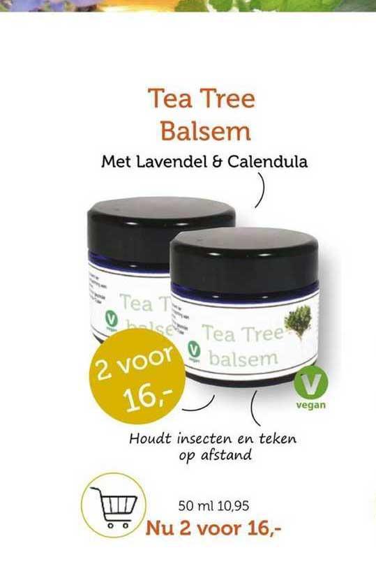 Rode Pilaren Tea Tree Balsem Met Lavendel & Calendula