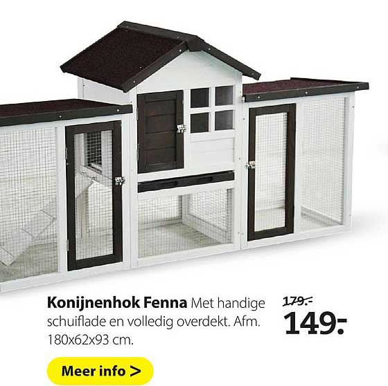 Pets Place Konijnenhok Fenna