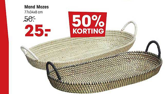 Kwantum Mand Mozes 50% Korting