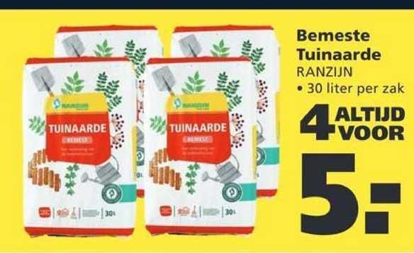 Ranzijn Tuin & Dier Bemeste Tuinaarde Ranzijn