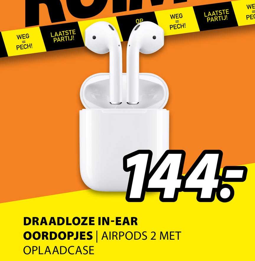 Expert Draadloze In-Ear Oordopjes | Airpods 2 Met Oplaadcase
