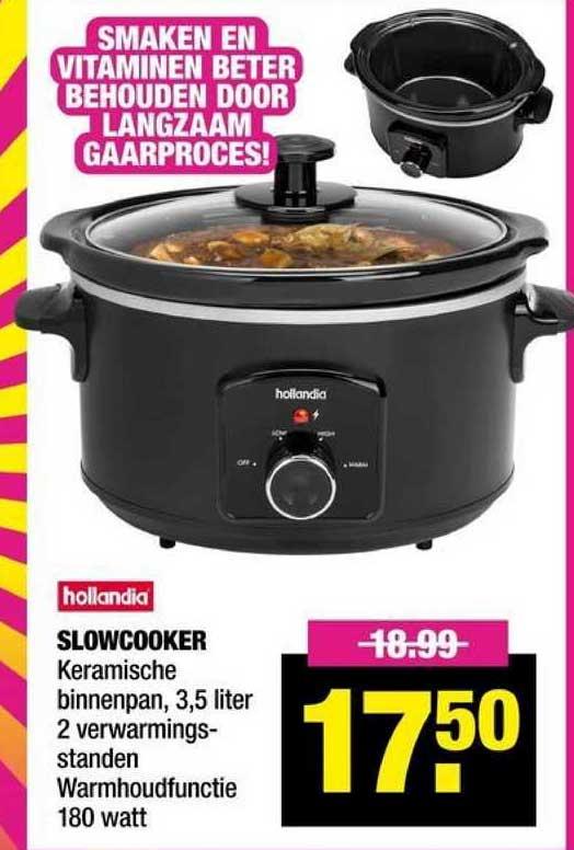 Big Bazar Hollandia Slowcooker