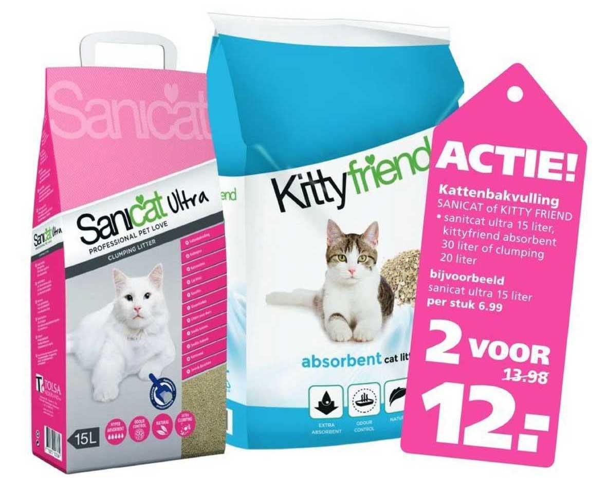 Ranzijn Tuin & Dier Kattenbakvulling Sanicat Of Kitty Friend