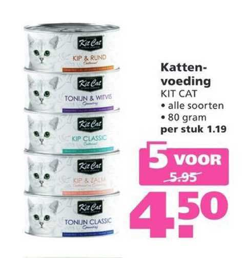 Ranzijn Tuin & Dier Kattenvoeding Kit Cat