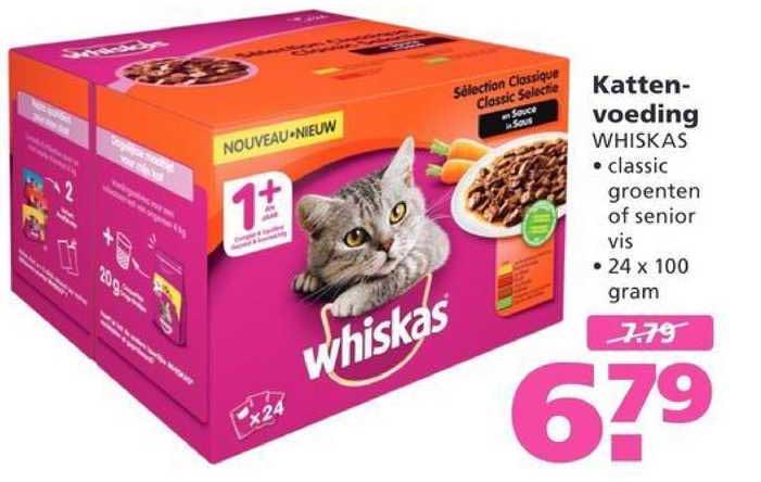 Ranzijn Tuin & Dier Kattenvoeding Whiskas