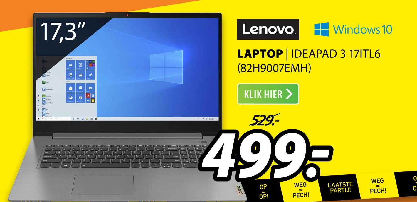 Expert Lenovo Laptop | Ideapad 3 17ITL6 (82H9007EMH)