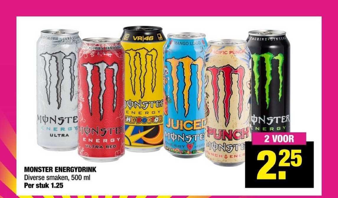 Big Bazar Monster Energydrink