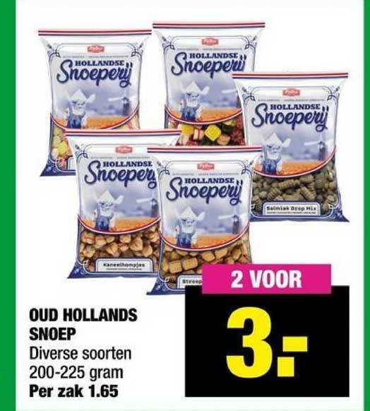 Big Bazar Oud Hollands Snoep