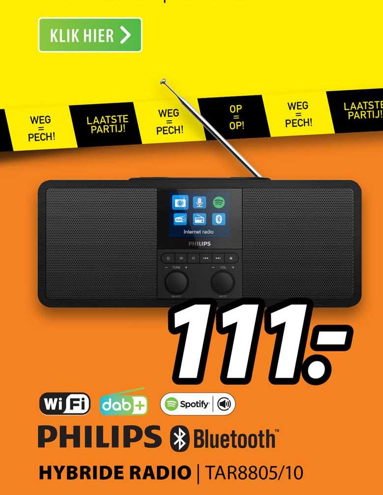 Expert Philips Hybride Radio | TAR8805-10