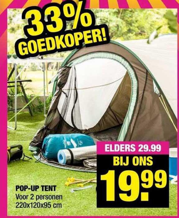 Big Bazar Pop-Up Tent