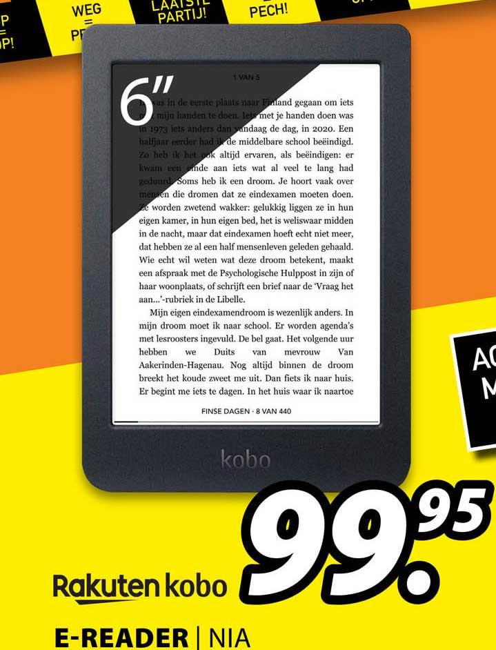 Expert Rakuten Kobo E-Reader | NIA