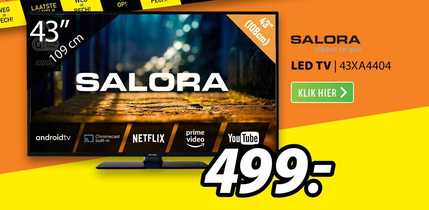 Expert Salora Led TV | 43XA4404