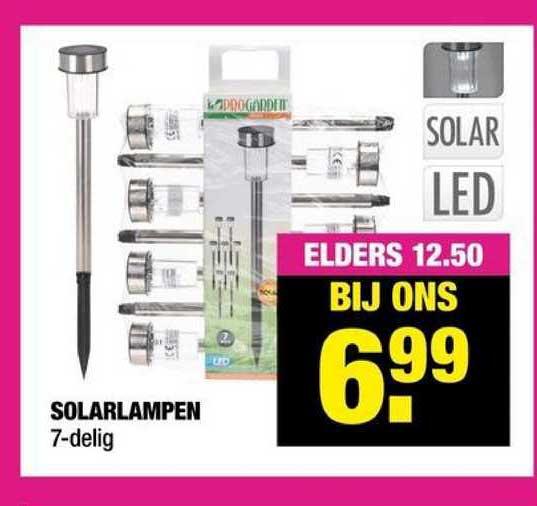 Big Bazar Solarlampen 7-Delig