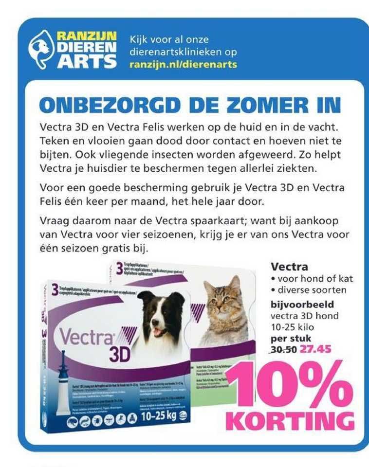 Ranzijn Tuin & Dier Vectra 10% Korting