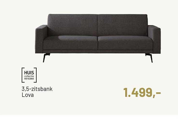 Piet Klerkx Huis Collectie 3,5-Zitsbank Lova