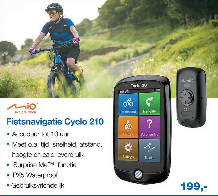 Profile De Fietsspecialist Mio Fietsnavigatie Cyclo 210