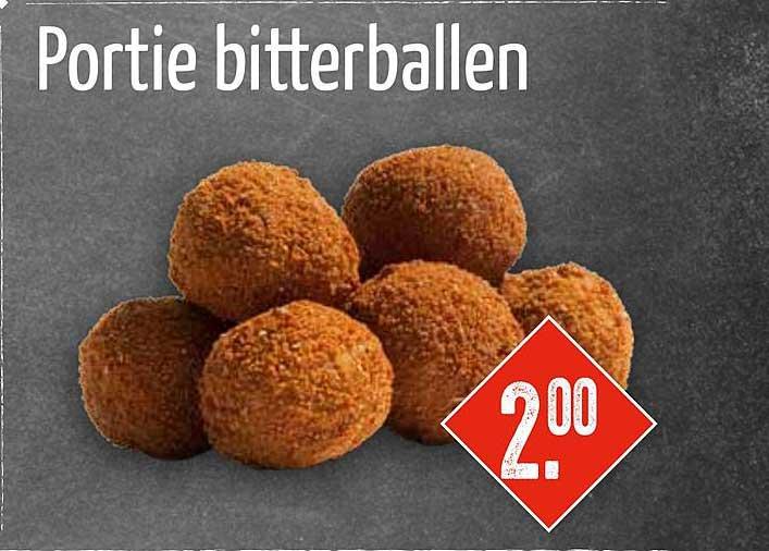 Big Snack Portie Bitterballen