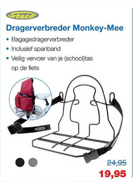 Profile De Fietsspecialist Steco Dragerverbreder Monkey-Mee Bagagerek