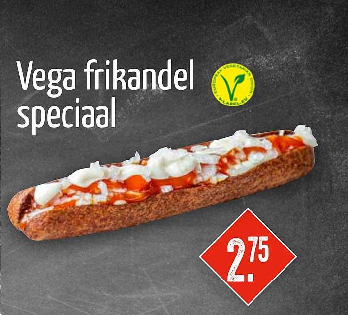 Big Snack Vega Frikandel Speciaal