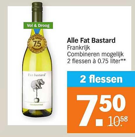 Albert Heijn Alle Fat Bastard