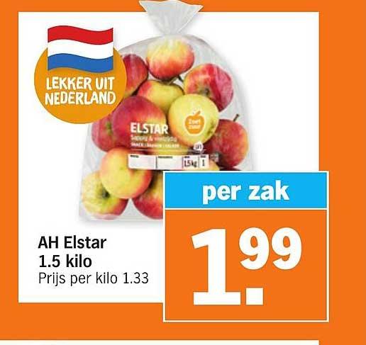 Albert Heijn AH Elstar 1.5 Kilo
