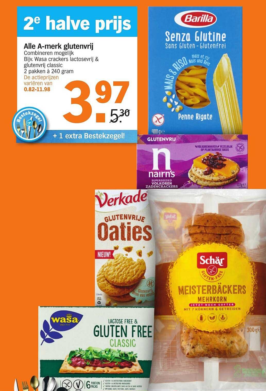 Albert Heijn Alle A-merk Glutenvrij