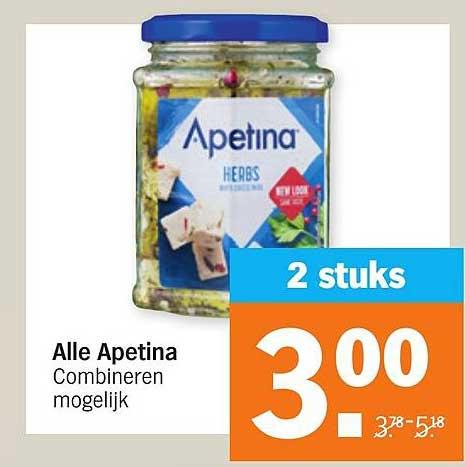 Albert Heijn Alle Apetina