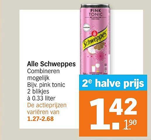 Albert Heijn Alle Schweppes