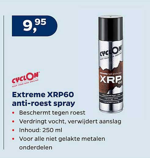 Bike Totaal Cyclon Extreme XRP60 Anti-Roest Spray