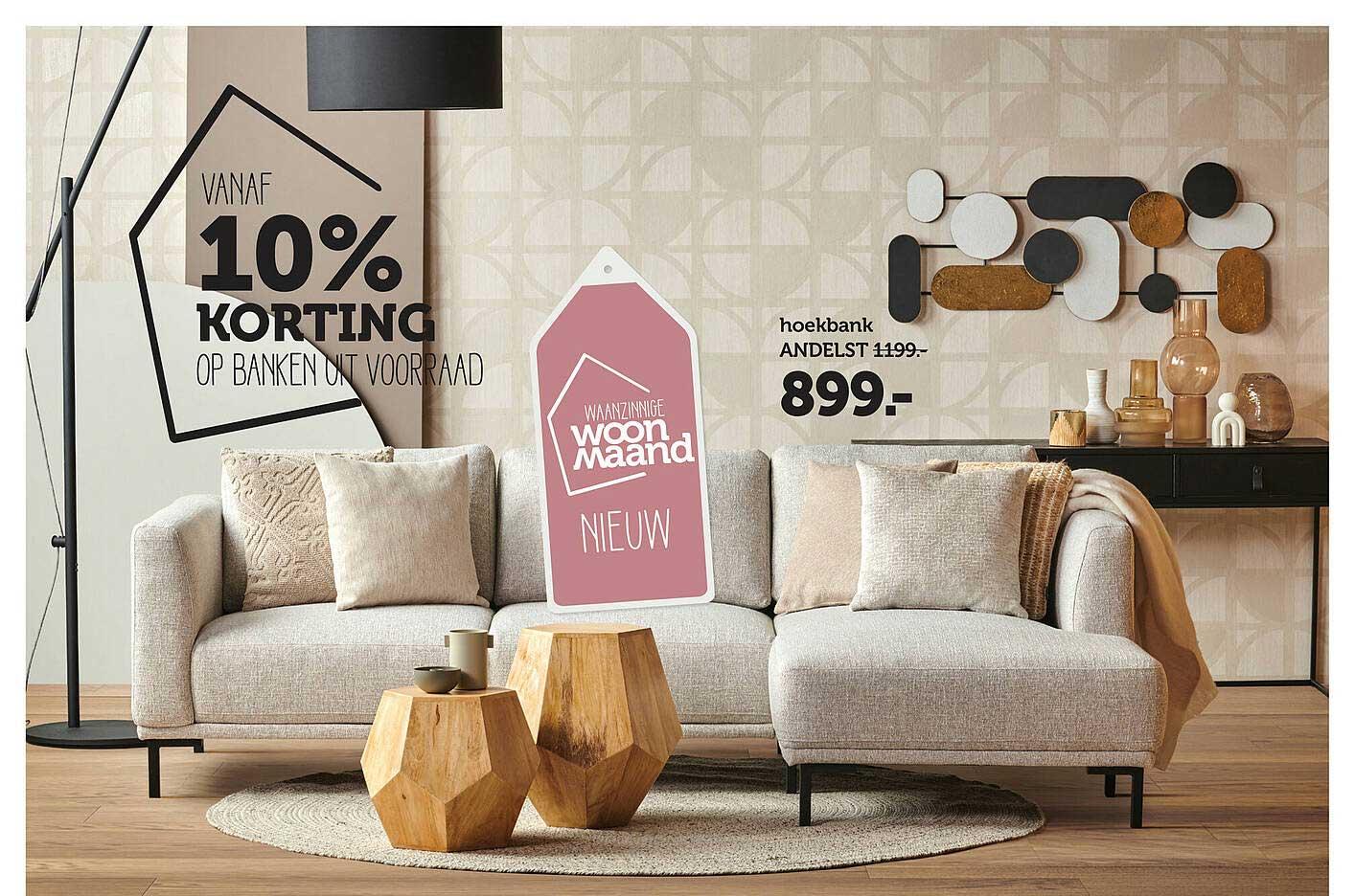 Woonexpress Hoekbank Andelst