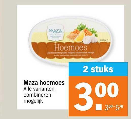 Albert Heijn Maza Hoemoes