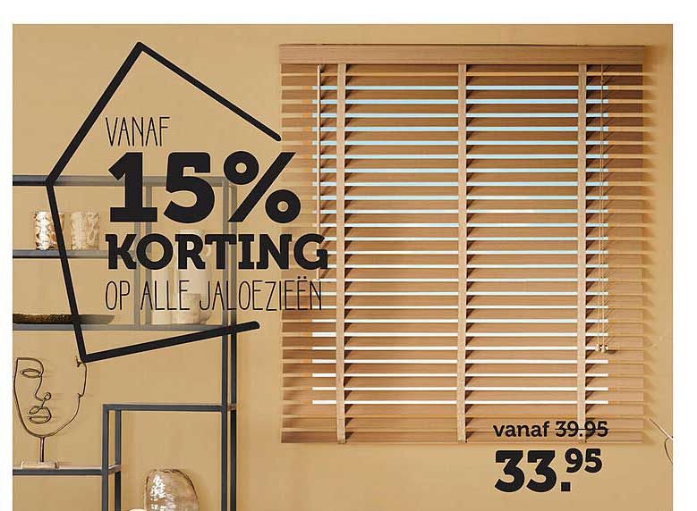 Woonexpress Op Alle Jaloezieën 15% Korting