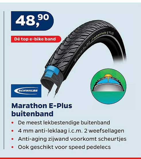 Bike Totaal Schwalbe Marathon E-Plus Buitenband