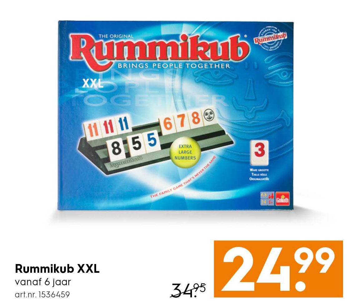 Blokker Rummikub XXL