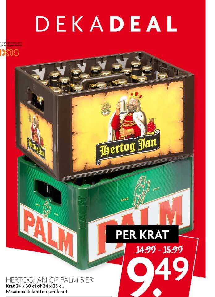 DekaMarkt Hertog Jan Of Palm Bier