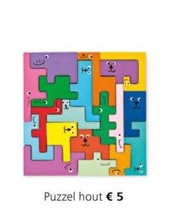Flying Tiger Puzzel Hout