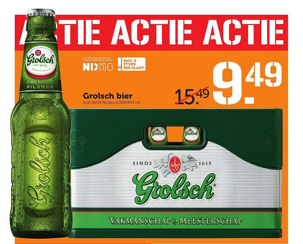 Coop Grolsch Bier