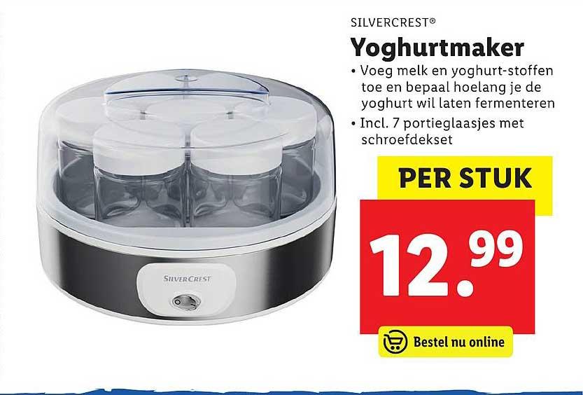 Lidl Shop Silvercrest Yoghurtmaker