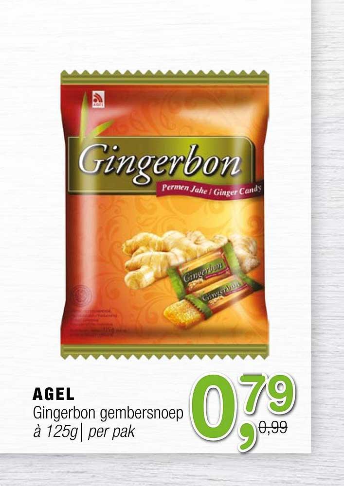 Amazing Oriental Agel Gingerbon Gembersnoep