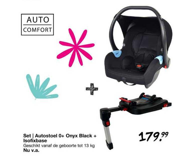 Van Asten Set   Autostoel 0+ Onyx Black + Isofixbase