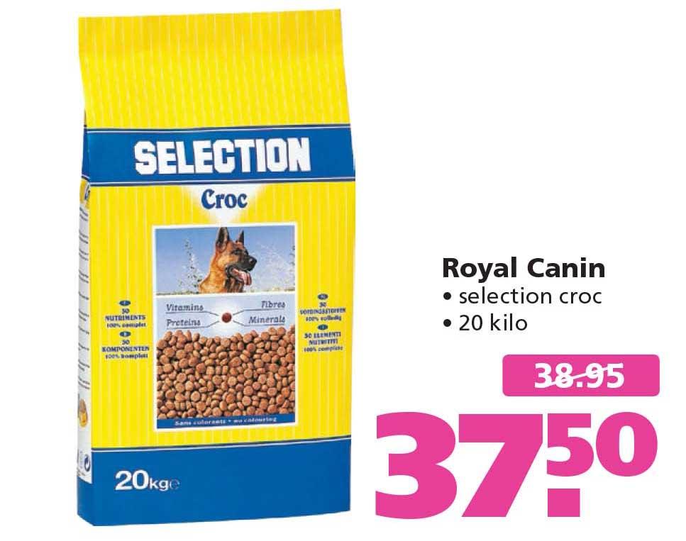 Ranzijn Tuin & Dier Royal Canin Selection Croc