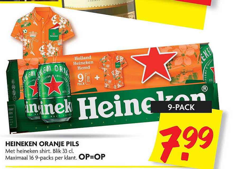 DekaMarkt Heineken Oranje Pils