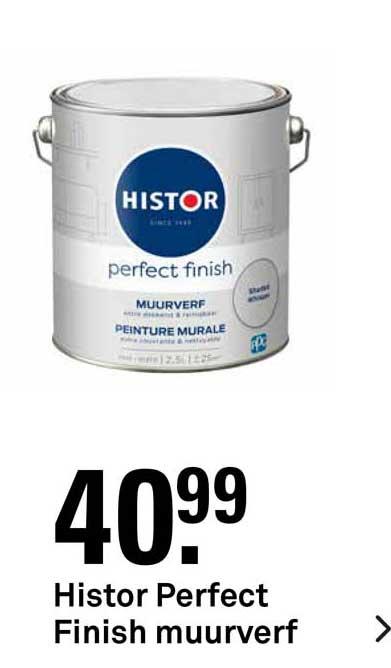 Karwei Histor Perfect Finish Muurverf