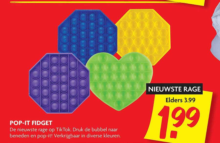 DekaMarkt Pop-It Fidget