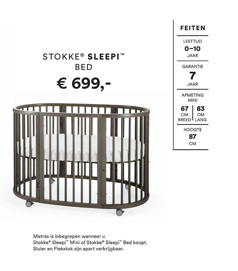Stokke Stokke® Sleepi™ Bed