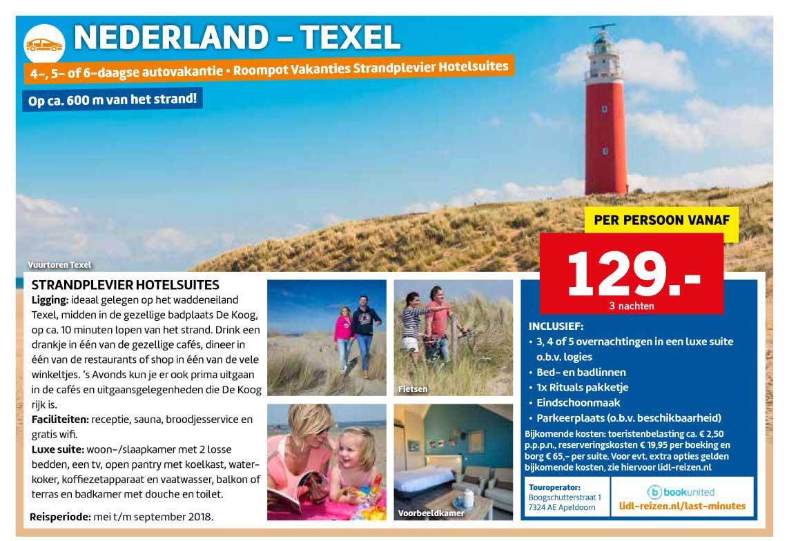 Lidl Reizen Autovakantie Nederland